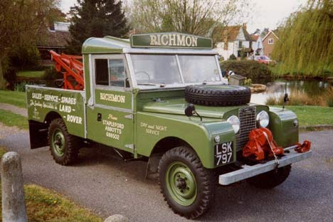 "Land Rover Series I (1948 - 1958)  80"", 86"", 88""/107"", 109"""